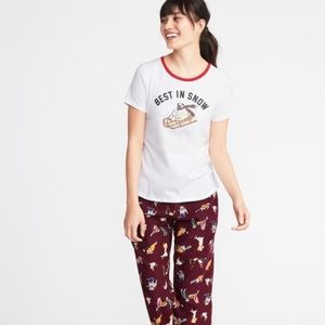 Old Navy | Varsity Graphic Pajama T-shirt